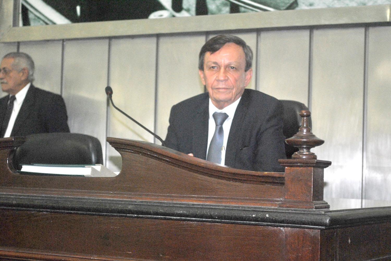 Presidente Luiz Dantas conduziu a sessão.JPG