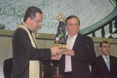 Deputado Luiz Dantas faz recepção da imagem de Nossa Senhora Aparecida (2).JPG