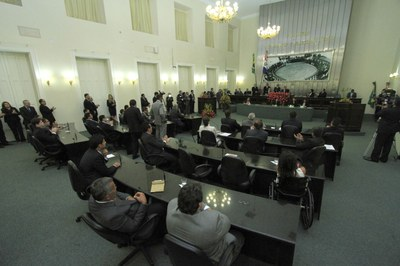 Plenário da Assembleia durante posse dos deputados e eleição da Mesa Diretora.jpg