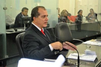 1º Vice-presidente Ronaldo Medeiros durante sessão nesta quarta-feira, 11.jpg