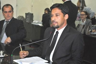 Deputado Rodrigo Cunha na sessão plenária.JPG