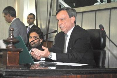 Presidente Luiz Dantas destaca importância do ex-governador Divaldo Suruagy, falecido no último sábado.JPG