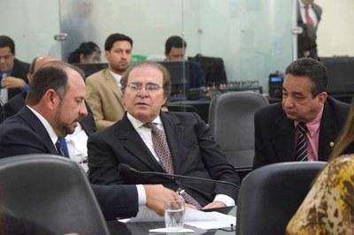 Deputados Antônio Albuquerque, Olavo Calheiros e Marcos Barbosa.JPG