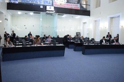 Sessão contou com a presença de 22 parlamentares.JPG