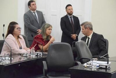 Deputados Angela Garrote, Flávia Cavalcante e Cabo Bebento.JPG