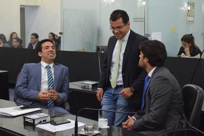 Deputados Yvan Beltrão, Gilvan Barros Filho e Breno Albuquerque.JPG