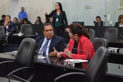 Deputados Inácio Loiola e Angela Garrote.JPG