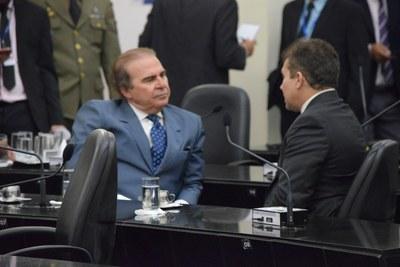 Deputados Olavo Calheiros e Ricardo Nezinho.JPG