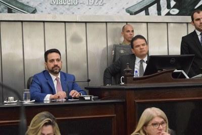 Deputados Paulo Dantas e Marcelo Victor.JPG