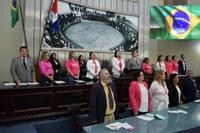Bancada feminina destaca luta em favor dos direitos das pessoas com câncer