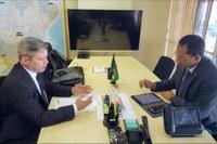 Cabo Bebeto cumpre agenda de trabalho em Brasília