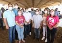 Comitiva de parlamentares prestigia a Expo Bacia Leiteira