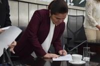 Ângela Garrote é empossada como procuradora Especial da Mulher