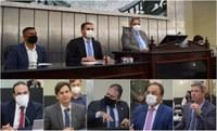 Deputados questionam secretários e elogiam atuação do Estado durante a pandemia