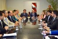 Parlamentares se reúnem com vice-governador para tratar de assuntos ligados à Educação