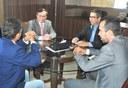 Em reunião com Luiz Dantas, servidores da Justiça solicitam apreciação do PL 715/14