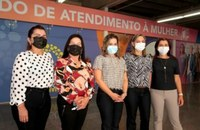 Em visita técnica a Brasília, deputadas conhecem equipamentos de combate à violência contra mulher
