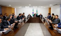 Francisco Tenório participa de encontro com o presidente Michel Temer