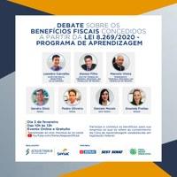 Jó Pereira divulga evento que discute possibilidades abertas pela legislação do Jovem Aprendiz