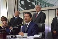 Presidente Marcelo Victor afirma que protagonismo das ações legislativas estará no plenário da Casa