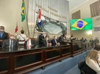 Mesa Diretora para o segundo biênio toma posse em sessão solene