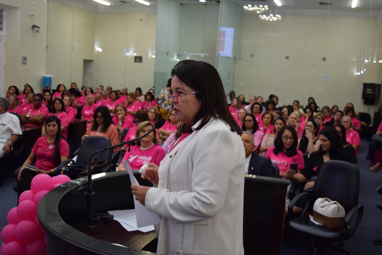 Outubro Rosa: Sessão especial alerta sobre prevenção, diagnóstico e tratamento do câncer de mama