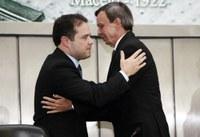 Parceria entre Legislativo e Executivo é destaque em pronunciamento de Renan Filho