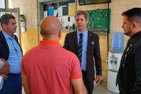 Parlamentares realizam visita surpresa ao Sistema Prisional e cobram aumento de efetivo