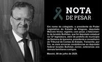 Parlamento emite Nota de Pesar pelo falecimento do ex-deputado Isnaldo Bulhões