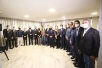 Parlamento recebe a visita do presidente Arthur Lira e estreita relação institucional entre os Poderes