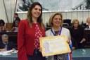 Patrícia Mourão é agraciada com a Medalha do Mérito Zumbi dos Palmares