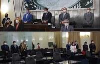 Plenário presta homenagem póstuma a João Batista, patrono do Sete de Setembro