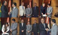 Presidente Marcelo Victor empossa diretores da Casa