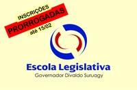 Prorrogado até o dia 15 de fevereiro prazo de inscrições para professores da Escola Legislativa