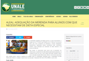 Site da Unale destaca aprovação de projeto sobre adequação da merenda para alunos