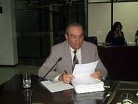 Veja a trajetória política de Roberto Torres, que foi presidente da Casa e parlamentar Constituinte