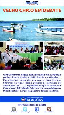 Audiência em Piaçabuçu