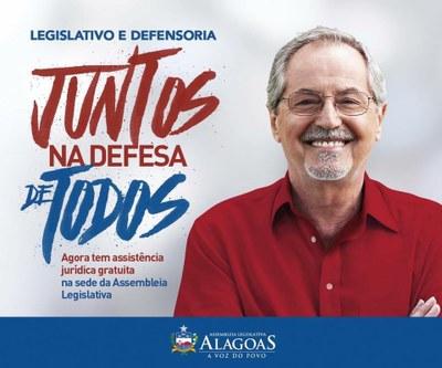 Legislativo e Defensoria - Juntos na Defesa de Todos
